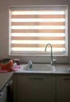 Faux Wood Blinds, Thousand Oaks Kitchen