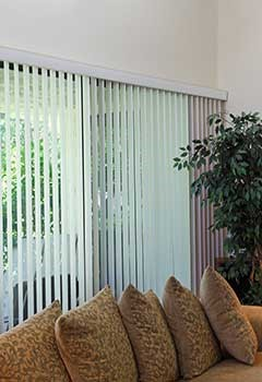 Remote Control Vertical Blinds, Simi Valley